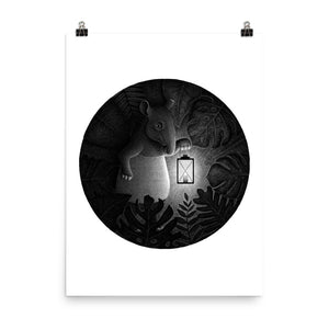 Tapirs Are Night Creatures | Illustration | Poster-posters-Eggenland