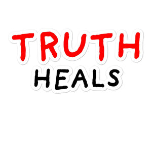 Truth Heals | Bubble-free stickers-stickers-Eggenland