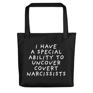Special Ability | Black | Tote Bag-tote bags-Black-Eggenland