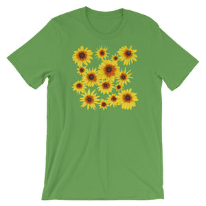 Blooming Flowers | Short-Sleeve Unisex T-Shirt-t-shirts-Leaf-S-Eggenland