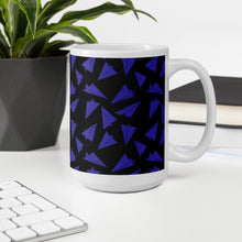 Load image into Gallery viewer, Paper Planes Pattern | Dark Violet | Mug-mugs-Eggenland