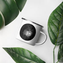 Load image into Gallery viewer, Tapirs Are Night Creatures | Enamel Mug-enamel mugs-Eggenland