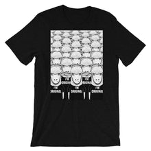 Load image into Gallery viewer, There's Nobody Like Meh | Short-Sleeve Unisex T-Shirt-t-shirts-Black Heather-S-Eggenland