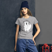 Load image into Gallery viewer, Beaver Singing Queen | Women's Short-Sleeve T-Shirt-t-shirts-Eggenland