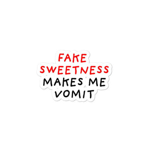 Fake Sweetness | Bubble-free stickers-stickers-Eggenland