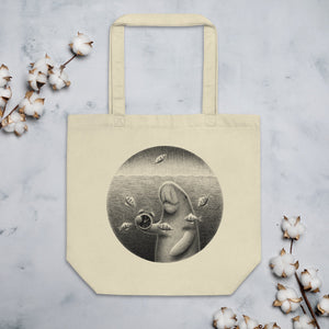 Dugongs Can Hold Their Breath For 6 Minutes | Eco Tote Bag-tote bags-Eggenland