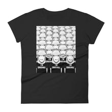 Load image into Gallery viewer, There's Nobody Like Meh | Women's Short-Sleeve T-Shirt-t-shirts-Black-S-Eggenland