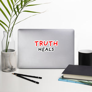 Truth Heals | Bubble-free stickers-stickers-5.5x5.5-Eggenland