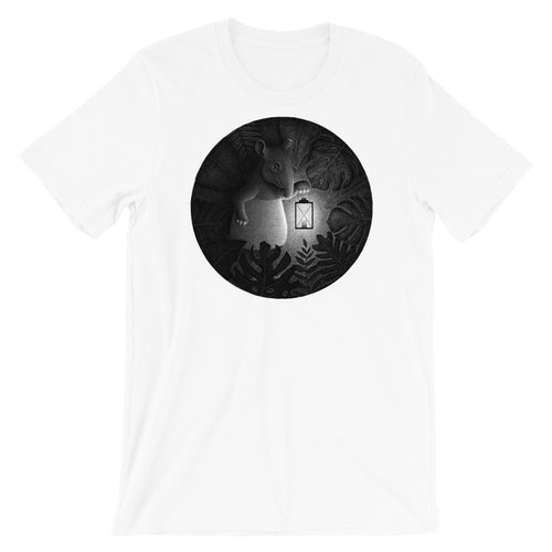 Tapirs Are Night Creatures | Short-Sleeve Unisex T-Shirt-t-shirts-White-S-Eggenland