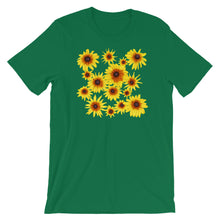 Load image into Gallery viewer, Blooming Flowers | Short-Sleeve Unisex T-Shirt-t-shirts-Kelly-S-Eggenland
