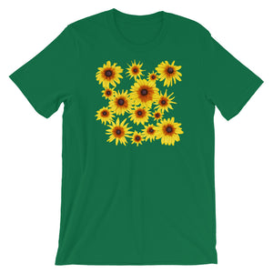 Blooming Flowers | Short-Sleeve Unisex T-Shirt-t-shirts-Kelly-S-Eggenland