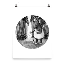 Load image into Gallery viewer, Tapirs Are Gardeners of Forest | Illustration | Poster-posters-Eggenland