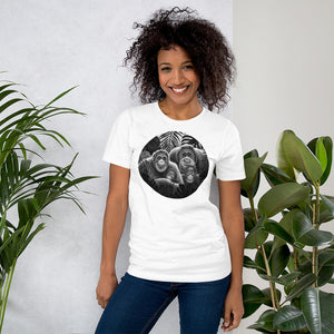 Orangutan Family | Short-Sleeve Unisex T-Shirt