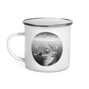 Dugongs Can Hold Their Breath For 6 Minutes | Enamel Mug-enamel mugs-Eggenland