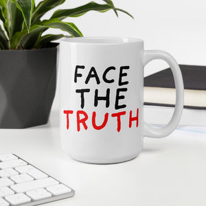 Face the Truth | Mug-mugs-Eggenland