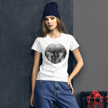 Load image into Gallery viewer, Dugong Family | Women's Short-Sleeve T-Shirt-t-shirts-Eggenland