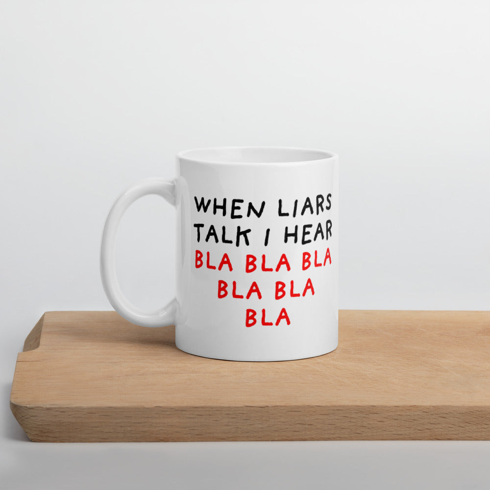 When Liars Talk | Mug-mugs-11oz-Eggenland