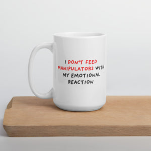 Don't Feed Manipulators | Mug-mugs-15oz-Eggenland