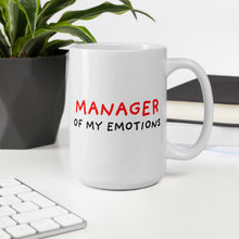Load image into Gallery viewer, Manager of My Emotions | Mug-mugs-Eggenland