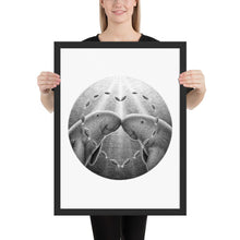 Load image into Gallery viewer, Dugongs Have One Partner | Illustration | Framed poster-framed posters-Black-18×24-Eggenland