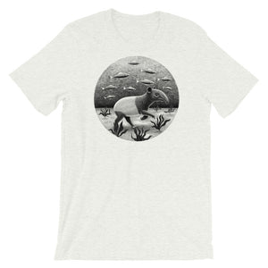 Tapirs Can Walk Underwater | Short-Sleeve Unisex T-Shirt-t-shirts-Ash-S-Eggenland
