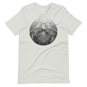 Dugongs Have One Partner | Short-Sleeve Unisex T-Shirt-t-shirts-Silver-S-Eggenland