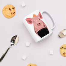 Load image into Gallery viewer, Cool Pig With Tattoos | Mug-mugs-Eggenland