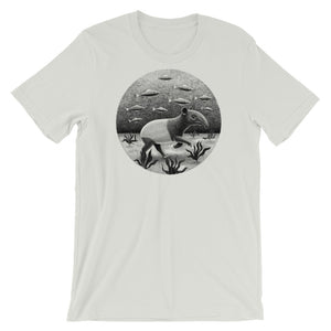 Tapirs Can Walk Underwater | Short-Sleeve Unisex T-Shirt-t-shirts-Silver-S-Eggenland