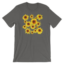 Load image into Gallery viewer, Blooming Flowers | Short-Sleeve Unisex T-Shirt-t-shirts-Asphalt-S-Eggenland