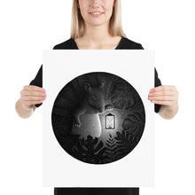 Load image into Gallery viewer, Tapirs Are Night Creatures | Illustration | Poster-posters-16×20-Eggenland
