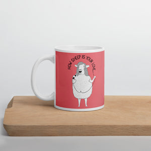 "Sheep singing ""How Deep Is Your Love"" 