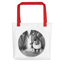 Load image into Gallery viewer, Tapirs Are Gardeners of Forest | Tote Bag-tote bags-Red-Eggenland
