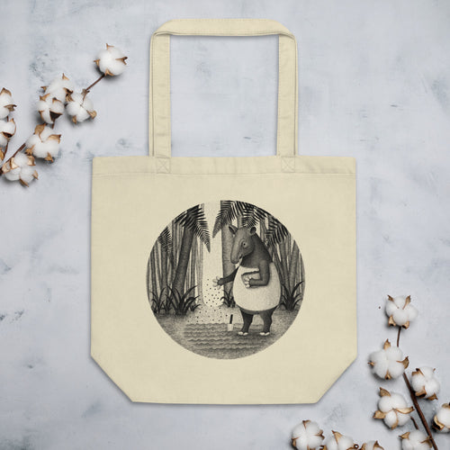 Tapirs Are Gardeners of the Forest | Eco Tote Bag-tote bags-Eggenland