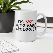 Load image into Gallery viewer, Fake Apologies | Mug-mugs-Eggenland