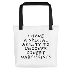 Special Ability | Tote Bag-tote bags-Black-Eggenland