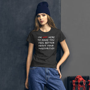 Insecurities | Women's Short-Sleeve T-Shirt-t-shirts-Eggenland