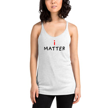 Load image into Gallery viewer, i Matter | Women's Racerback Tank-tank tops-Eggenland