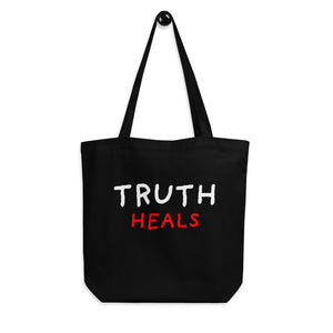 Truth Heals | Eco Tote Bag-tote bags-Eggenland