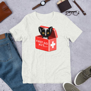 First Aid Kitten | Short-Sleeve Unisex T-Shirt-t-shirts-Eggenland