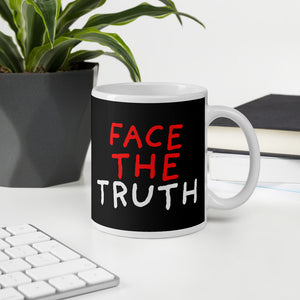 Face The Truth | Black | Mug-mugs-Eggenland
