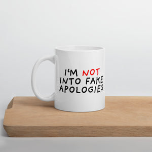 Fake Apologies | Mug-mugs-11oz-Eggenland
