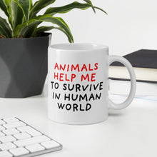 Load image into Gallery viewer, Animals Help Me | Mug-mugs-Eggenland