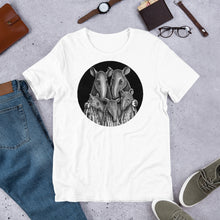 Load image into Gallery viewer, Tapir Family | Short-Sleeve Unisex T-Shirt-t-shirts-Eggenland