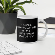 Load image into Gallery viewer, Emotional Maturity | Black | Mug-mugs-Eggenland