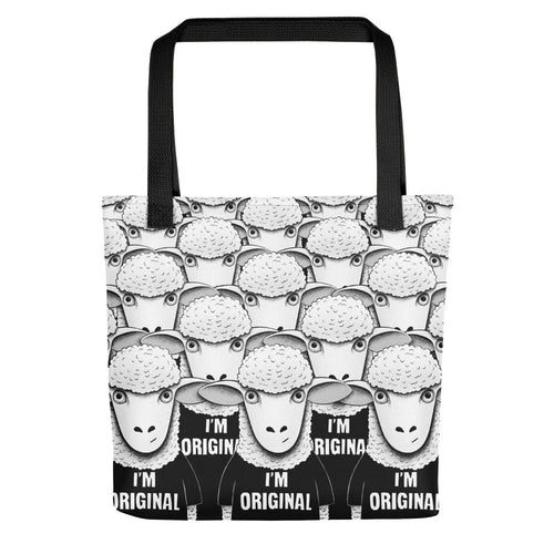 There's Nobody Like Meh | Tote Bag-tote bags-Black-Eggenland