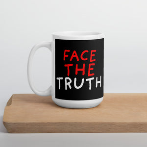 Face The Truth | Black | Mug-mugs-15oz-Eggenland