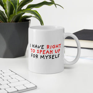 Right to Speak Up | Mug-mugs-Eggenland
