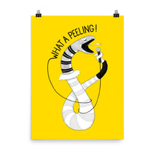 "Load image into Gallery viewer, Snake singing ""What a Feeling"" 