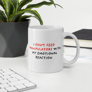Don't Feed Manipulators | Mug-mugs-Eggenland