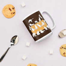 Load image into Gallery viewer, Cats Party | Brown | Mug-mugs-Eggenland